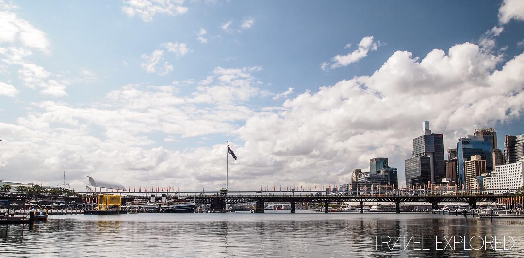 Sydney - Darling Harbour Pyrmont Bridge