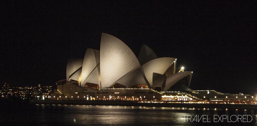 Sydney Opera House by Night