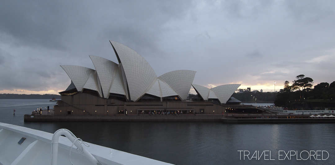 Sydney Opera House Early Arrival