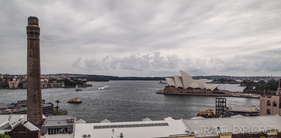 Sydney - View over Sydney Harbour from Sydney Harbour Bridge