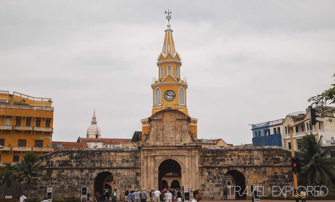Cartagena - Columbia - Old Walled City Gate