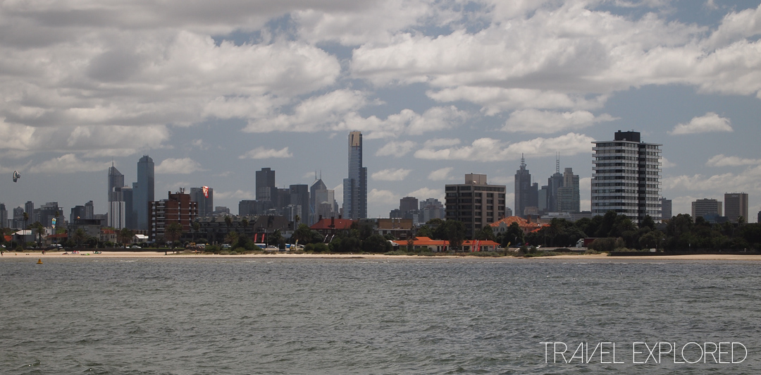 Melbourne - City skyline view from St Kilda Pier