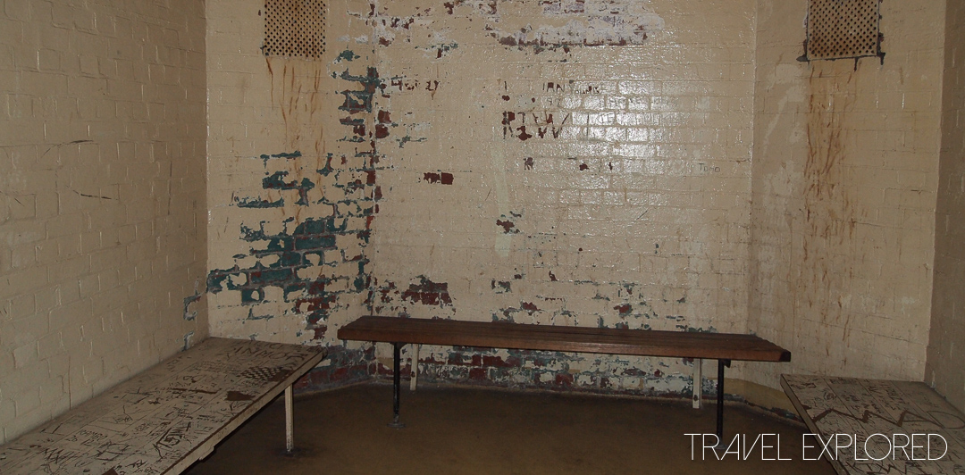 Melbourne - Old Melbourne Gaol Holding Cell