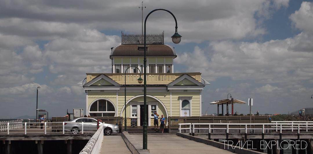 Melbourne - St Kilda Pier, Cafe