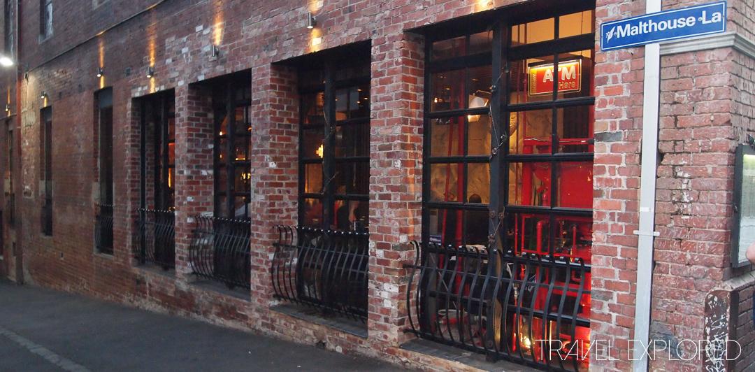 Melbourne - Terra Rossa Restaurant - Flinders Lane