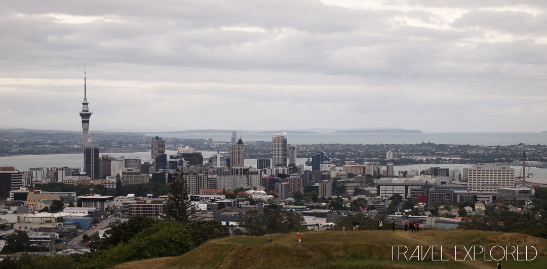 Auckland - Mount Eden Skyline View