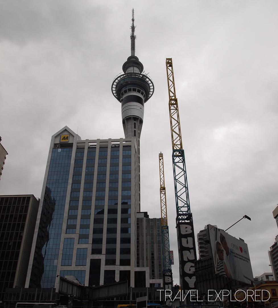 Auckland - Skytower at Skycity Casino