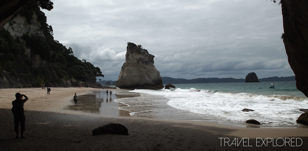 Coromandel - Cathedral Cove Looking North