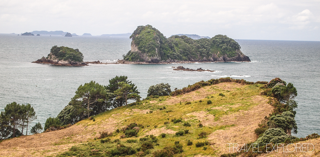 Coromandel - Walking to Cathedral Cove
