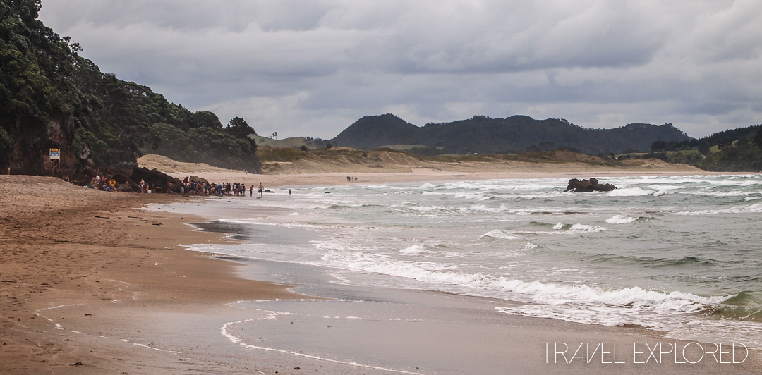 Coromandel - Hot Water Beach