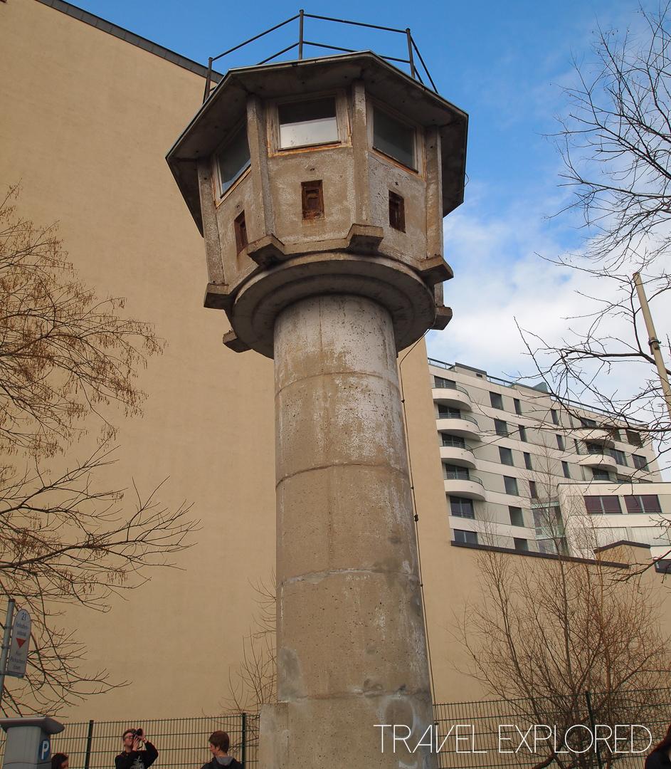 Berlin - Berlin Wall Guard Tower