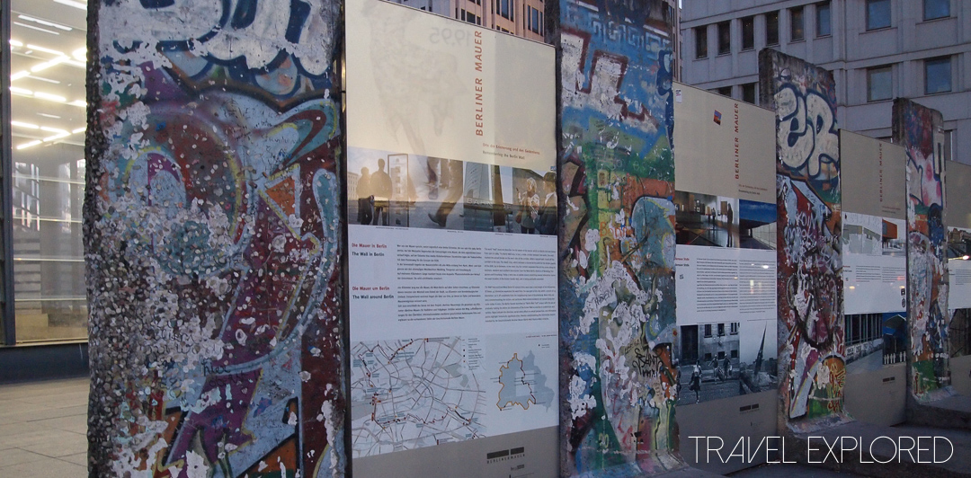 Berlin - Parts of the Berlin Wall