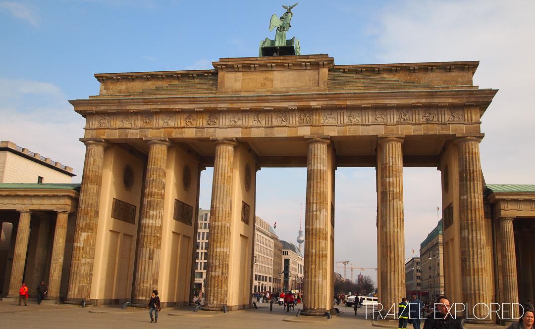 Berlin - Brandenburg Gate Daytime