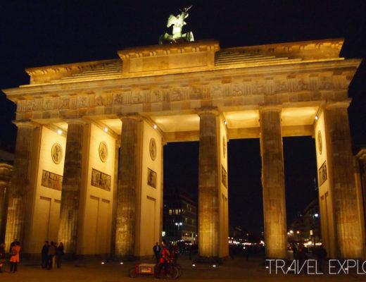 Berlin - Brandenburg Gate Nighttime