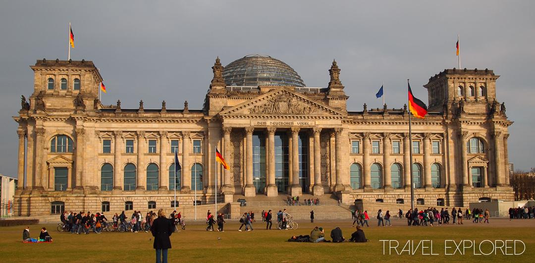 Berlin - Reichstag (German Parliament Building)