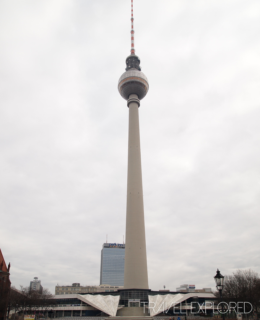 Berlin - TV Tower Oberservation Deck