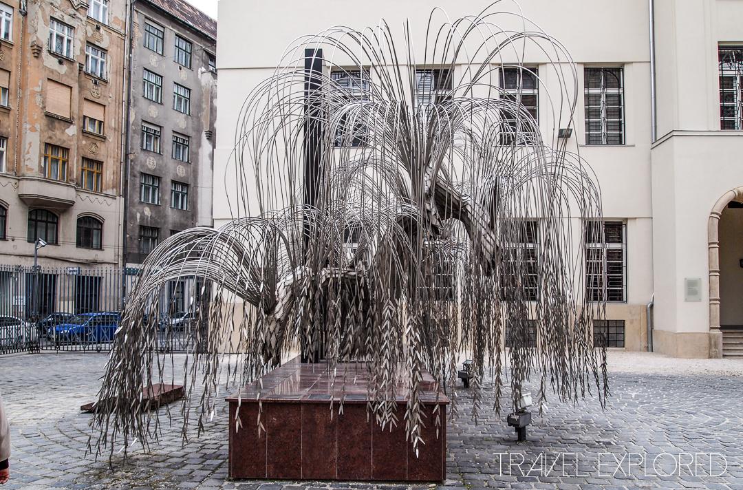Budapest - Dohany Street Synagogue Holocaust Memorial