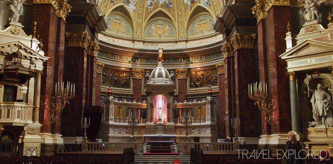Budapest - St Stephens Basilica Main Altar