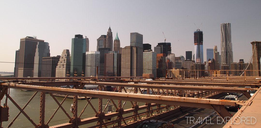 New york - Brooklyn Bridge Manhattan Skyline