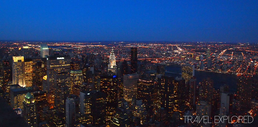 New York - Empire State Building Night View