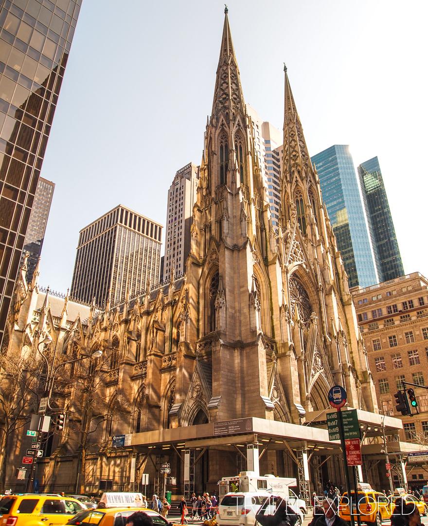 New York - St Patrick's Church 5th Avenue