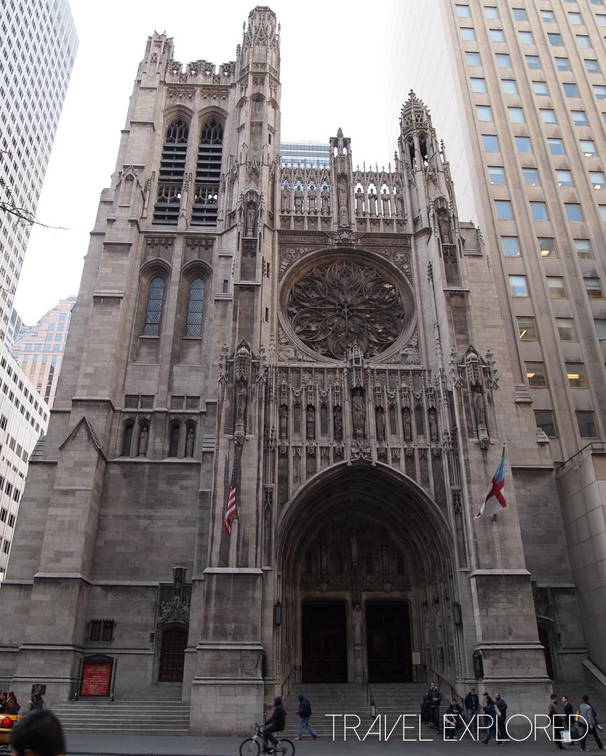 New York - St Thomas Church