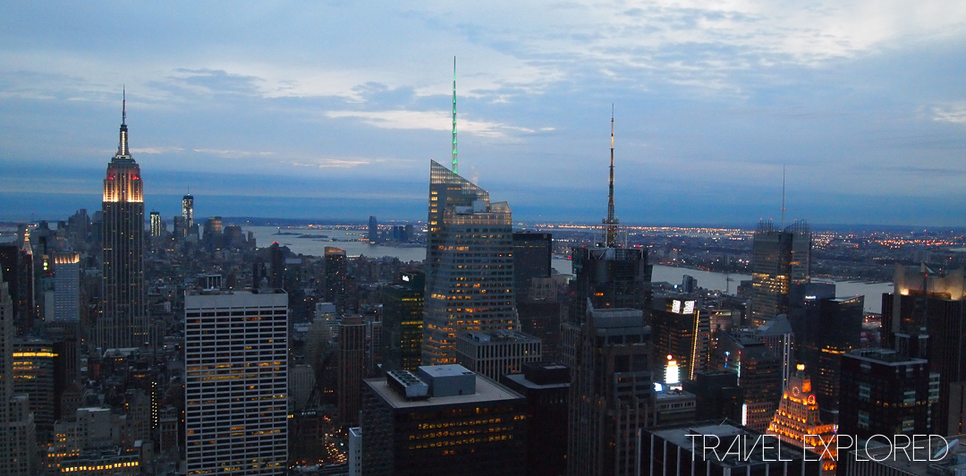 New York - Top Of The Rock Evening