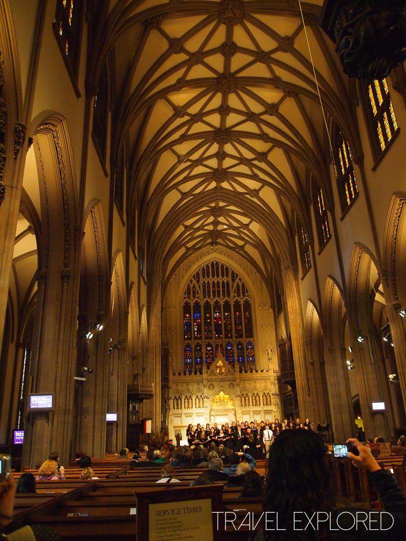 New York - Trinity Church Wall St Interior