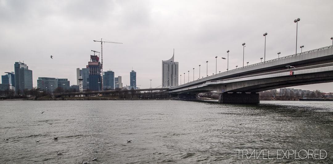 Vienna - Danube Bridge
