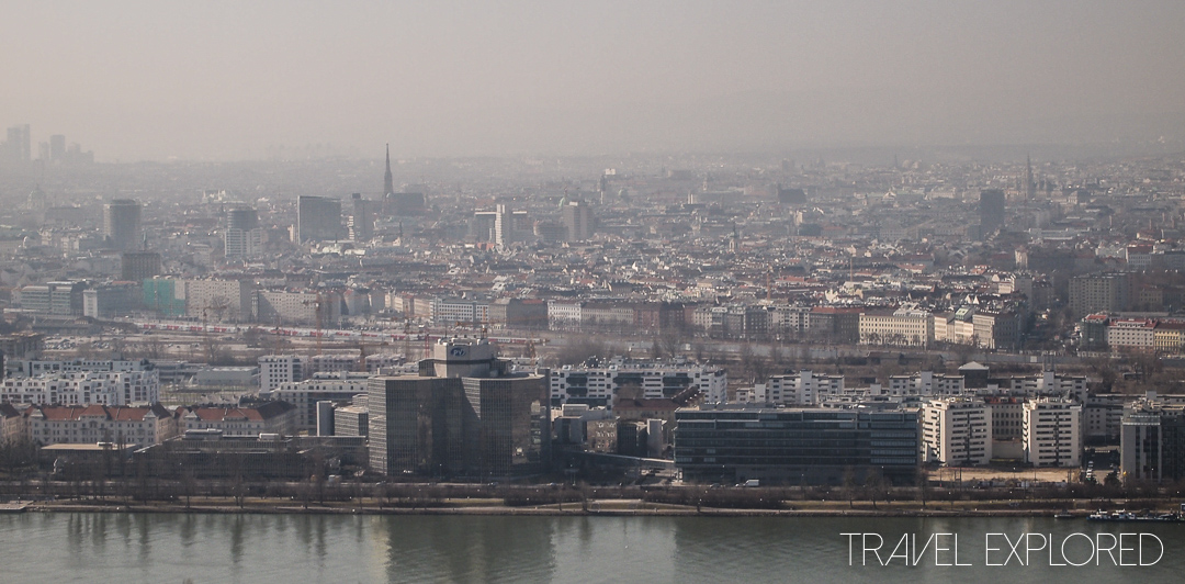 Vienna - View of Vienna from Danube Tower