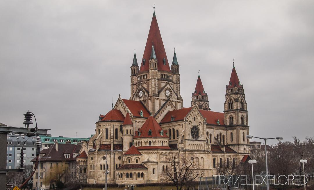 Vienna - Franz Von Assisi Kirche