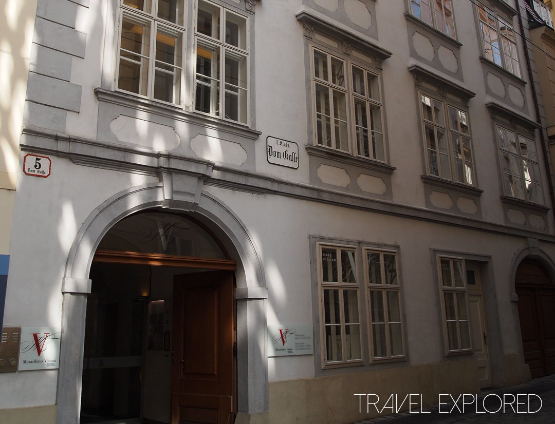 Vienna - Mozarthaus