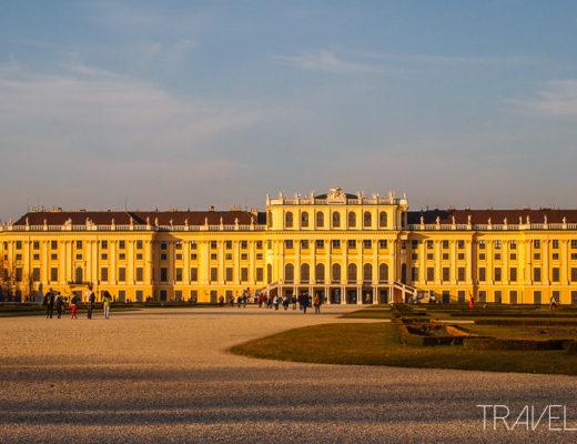 Vienna - Schloss Schoenbrunn Palace