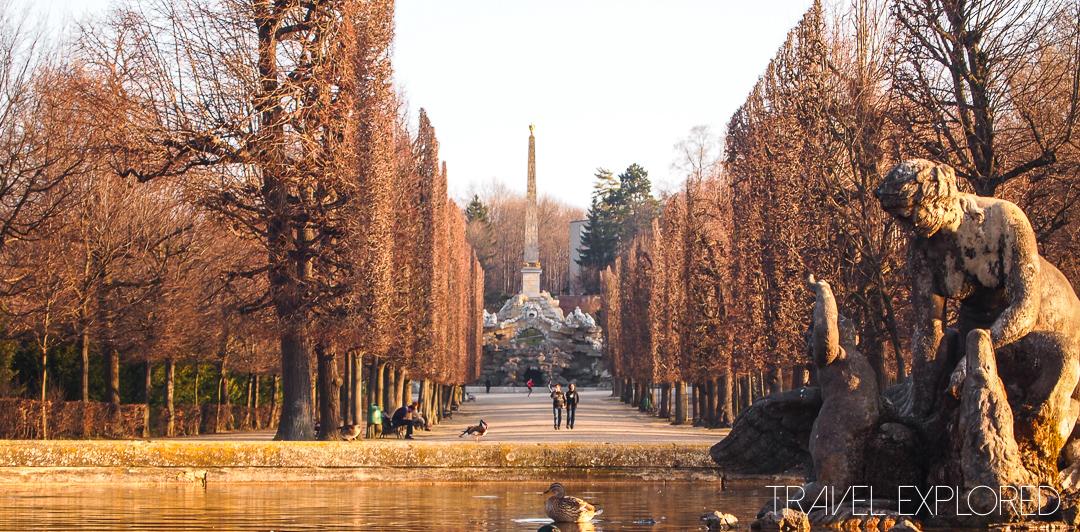 Vienna - Schloss Schoenbrunn Palace Gardens