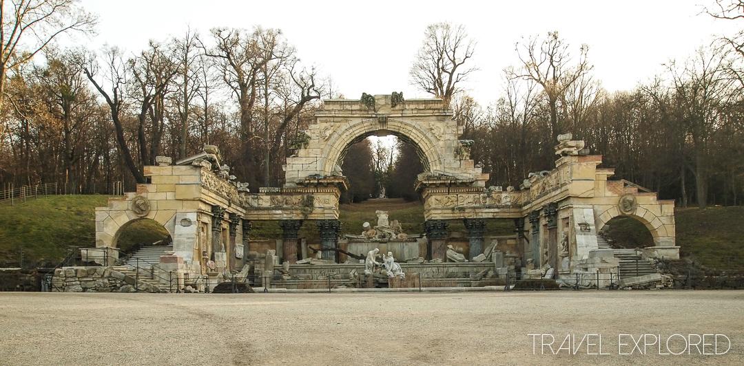 Vienna - Schoenbrunn Park Roman Ruins