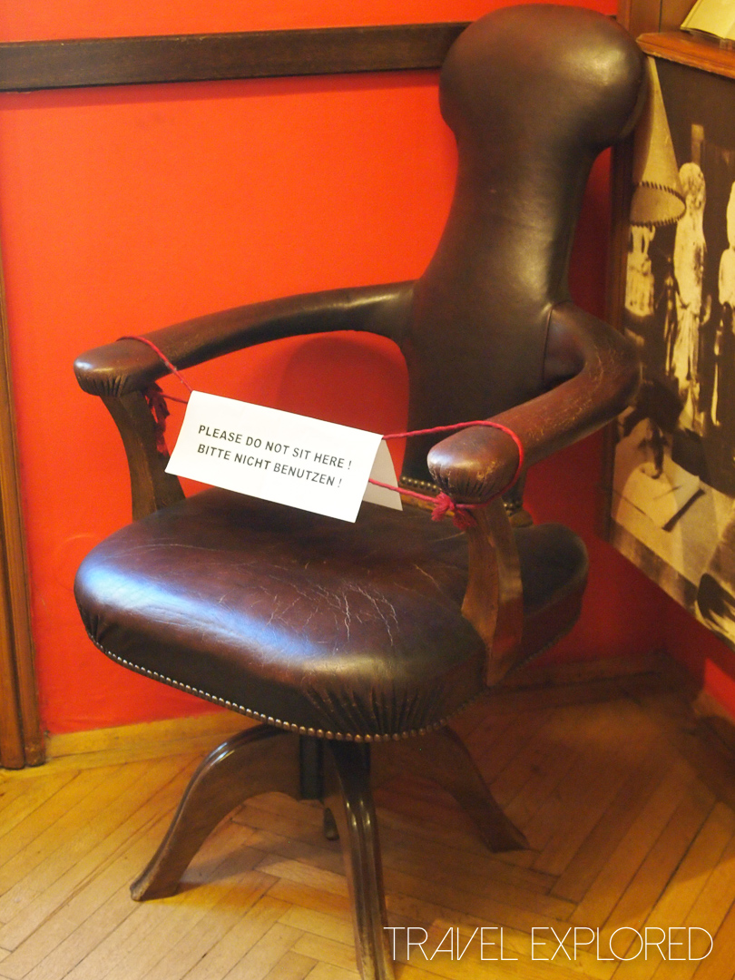 Vienna - Sigmund Freud Chair
