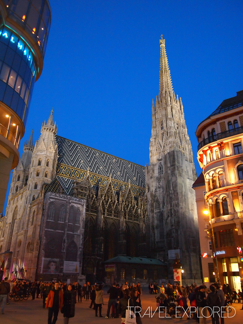 Vienna - St Stephen's Cathedral by Night