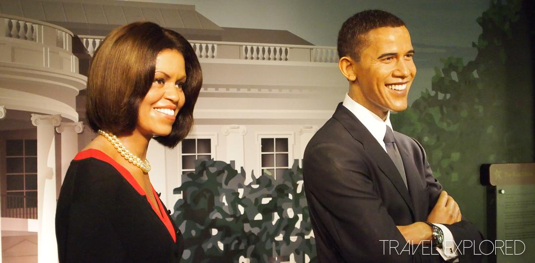 Washington - Madame Tussauds - Barack & Michelle Obama