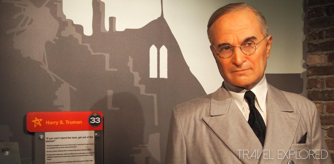 Washington - Madame Tussauds - Harry S. Truman