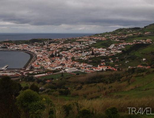 Horta - View from Ponta Da Espalamaca