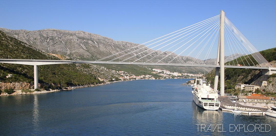 Dubrovnik - Franjo Tuđman Bridge