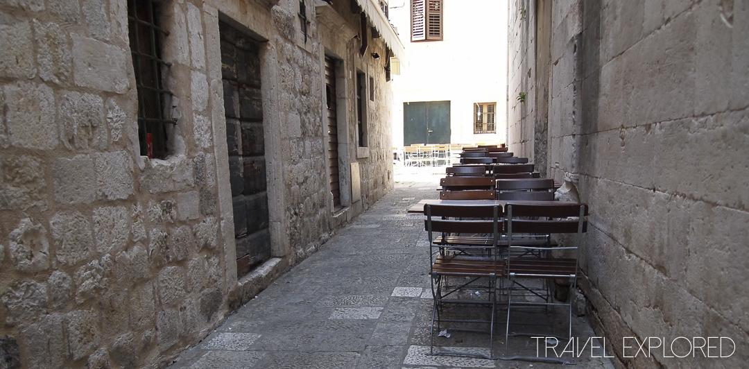 Dubrovnik - Old Town Cafe