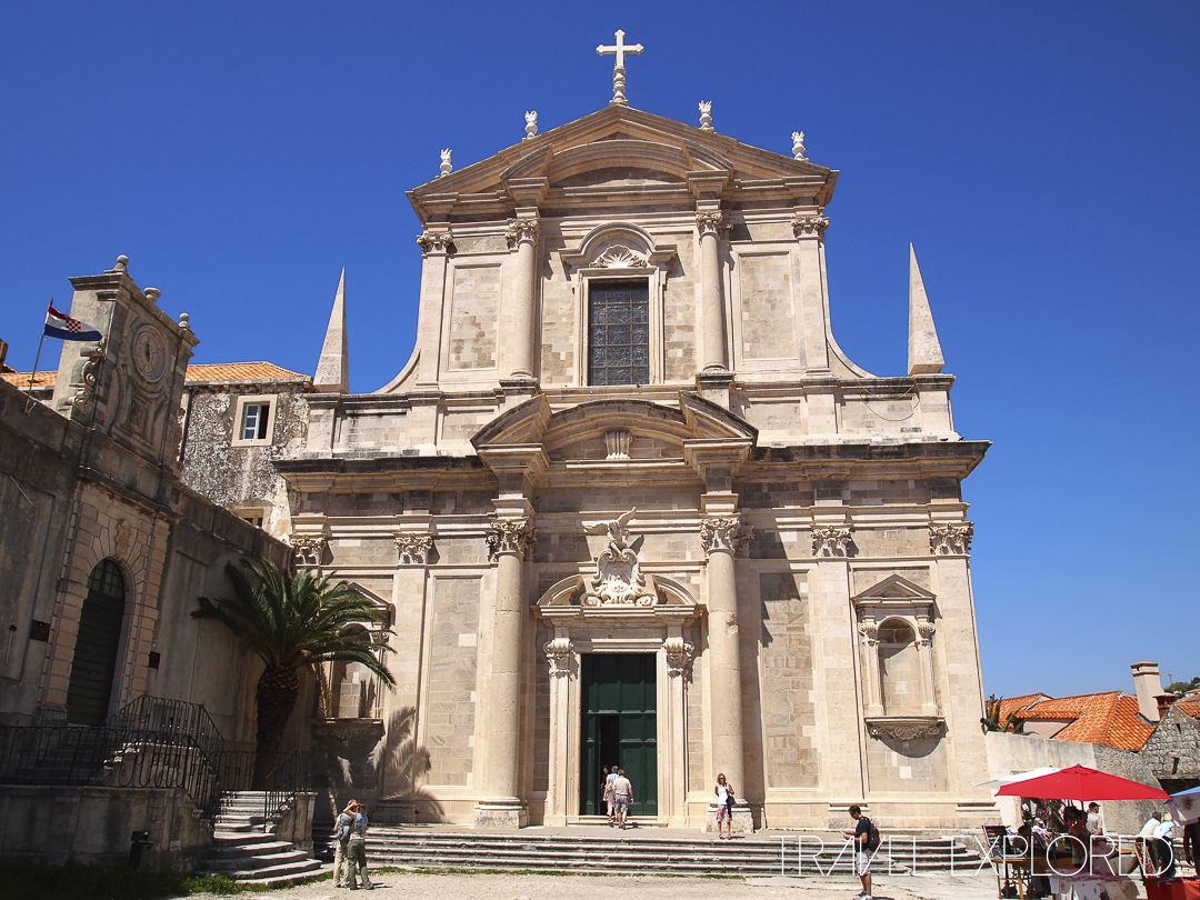 Dubrovnik - Old Town St Ignatius Church