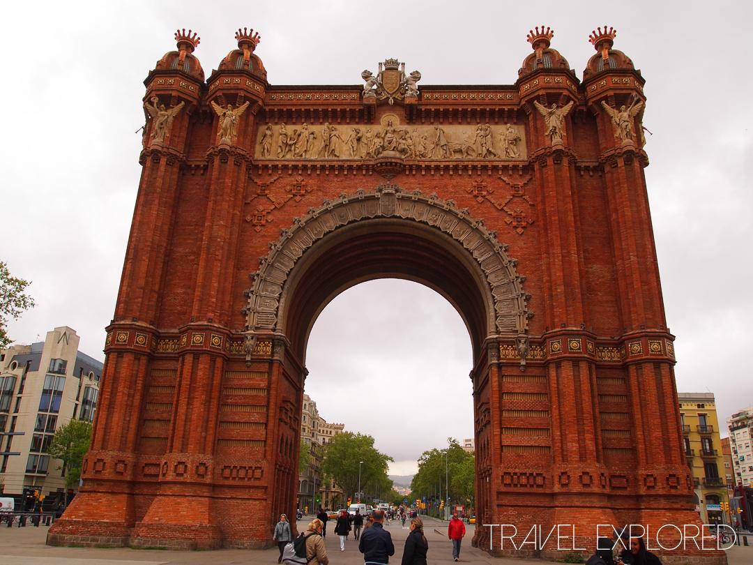 Barcelona - Arc Di Triomf