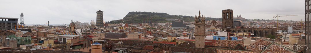 Barcelona - City Panorama