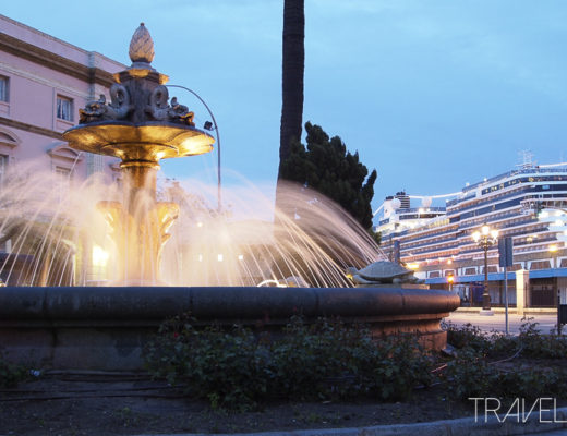 Cadiz - Fountain & Nieuw Amsterdam