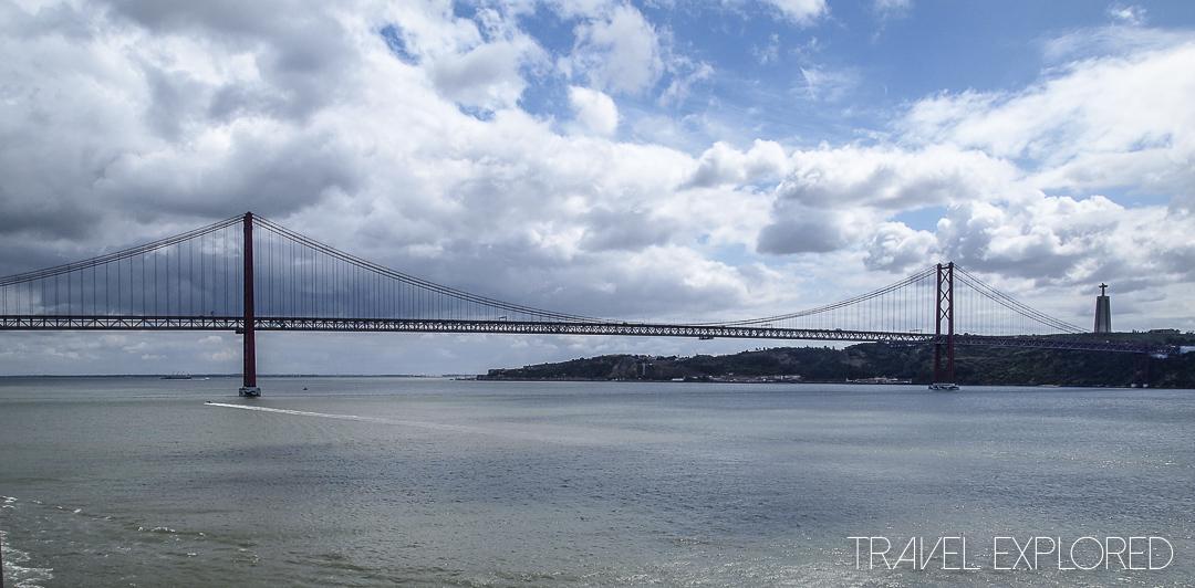 Lisbon - Bridge over Tagus River