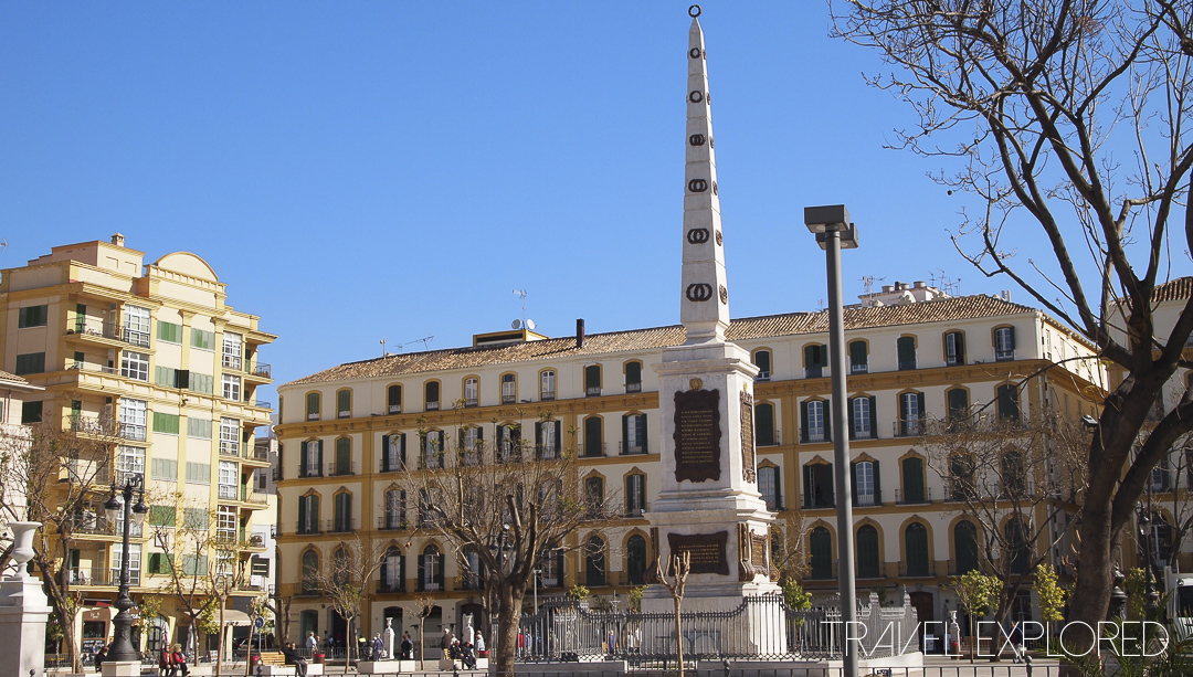 Malaga - Merced Square and Picasso's childhood home