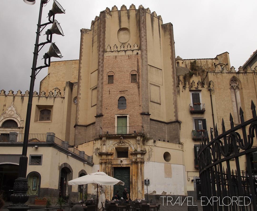 Naples - Basilica San Domenico Maggiore
