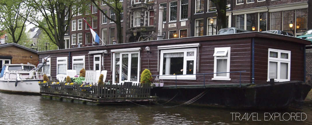 Amsterdam - Canal Houseboat